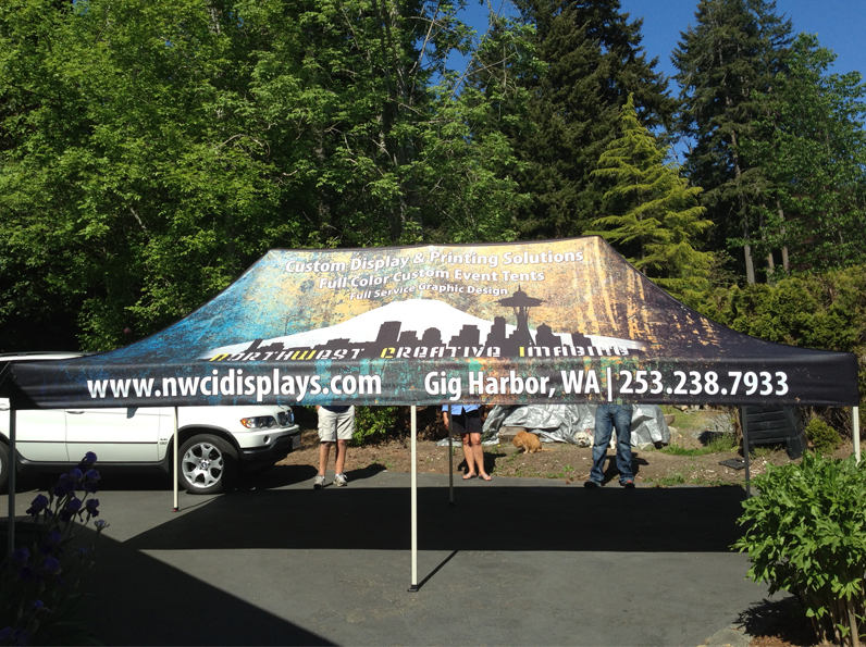 custom outdoor event tent