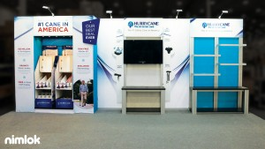 nimlok 10x20 custom trade show booth