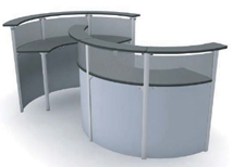 Pascale US Made Reception Desks