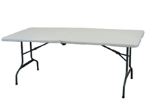 6 foot folding trade show table - 6 Foot Folding Table